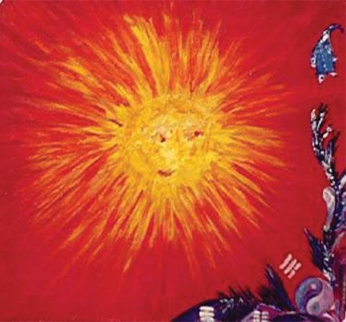 картина солнце: